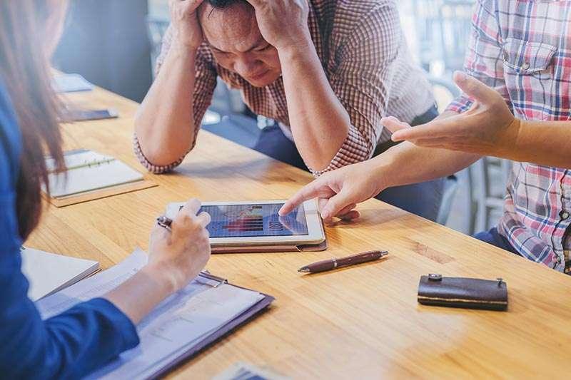 Erros pela falta de contabilidade
